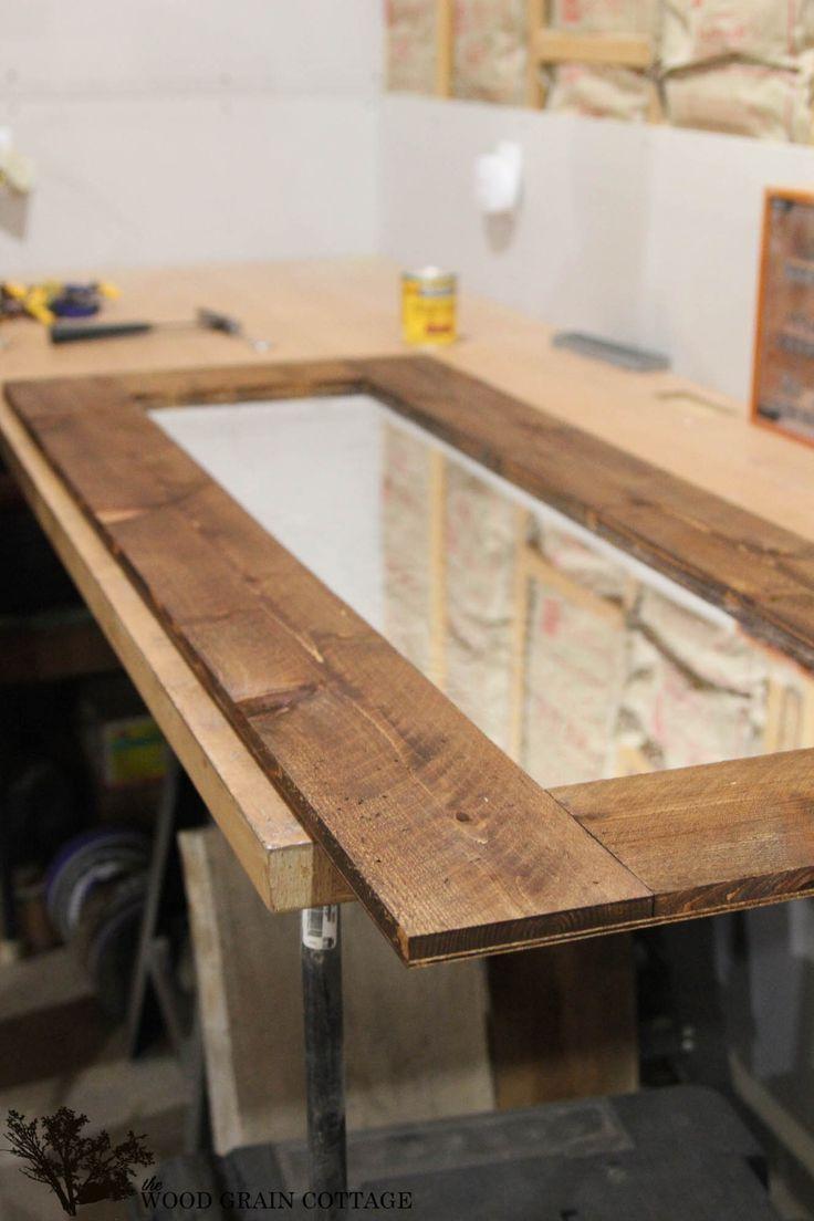 DIY Wood Framed Mirror | Allstar Woodworking & DIY Build Projects ...