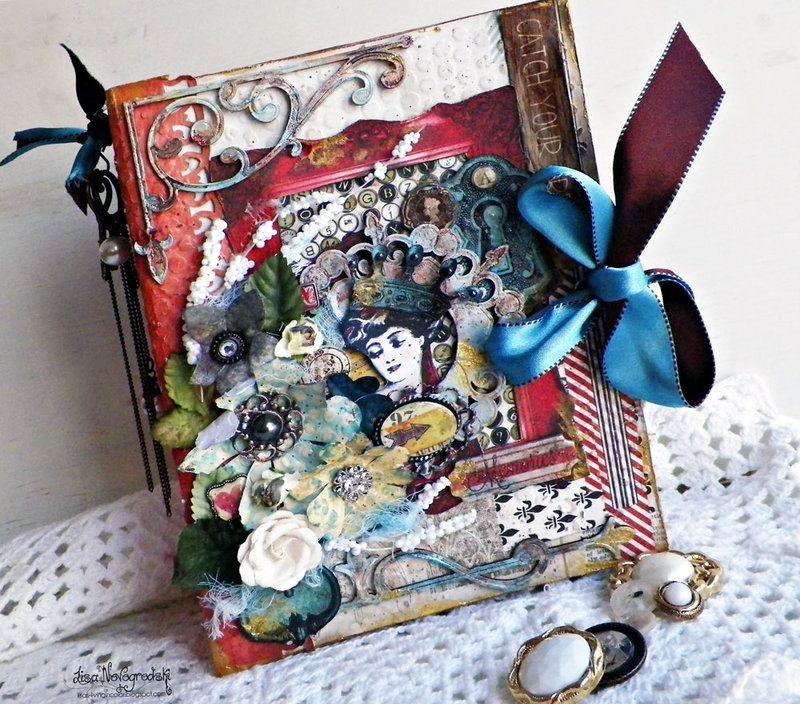 ** Bo Bunny Altered Book Box   @LisaNovogrodski