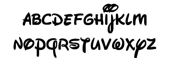 Walt Disney Script v4 1 Font LOWERCASE    loooove  #disney
