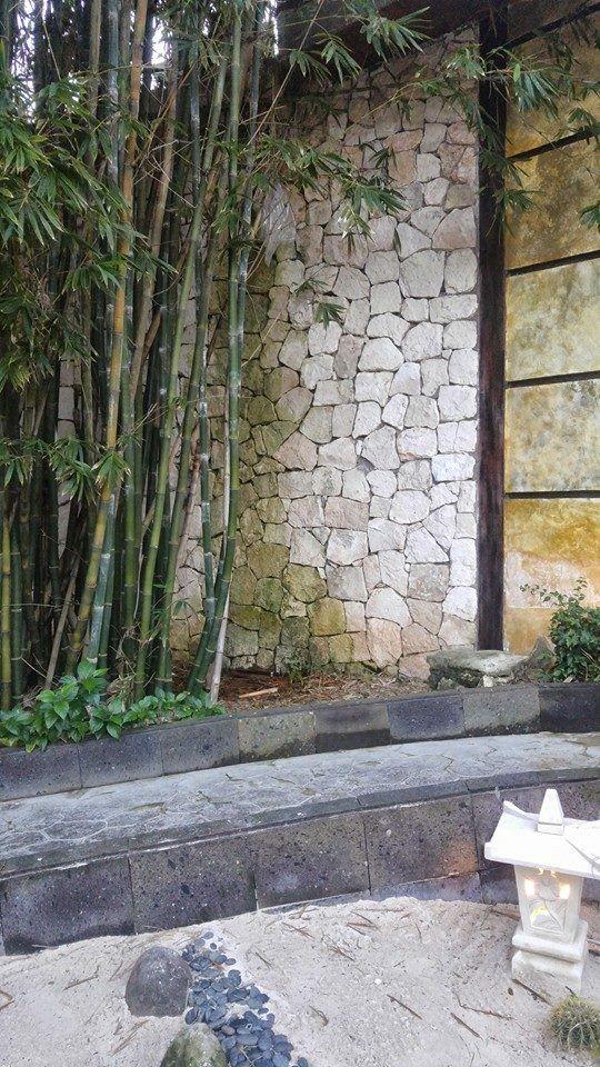 stone wall muros de piedra Tendencias Muros Exteriores Pinterest