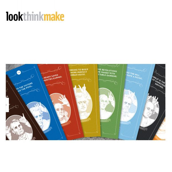 Lookthinkmake creates integrated brand messaging, providing