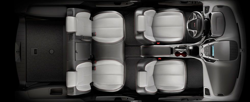 Gmc Terrain Offers A Easy To Use Multiflex Rear Seat System Provide Maximal Comfort And Utility