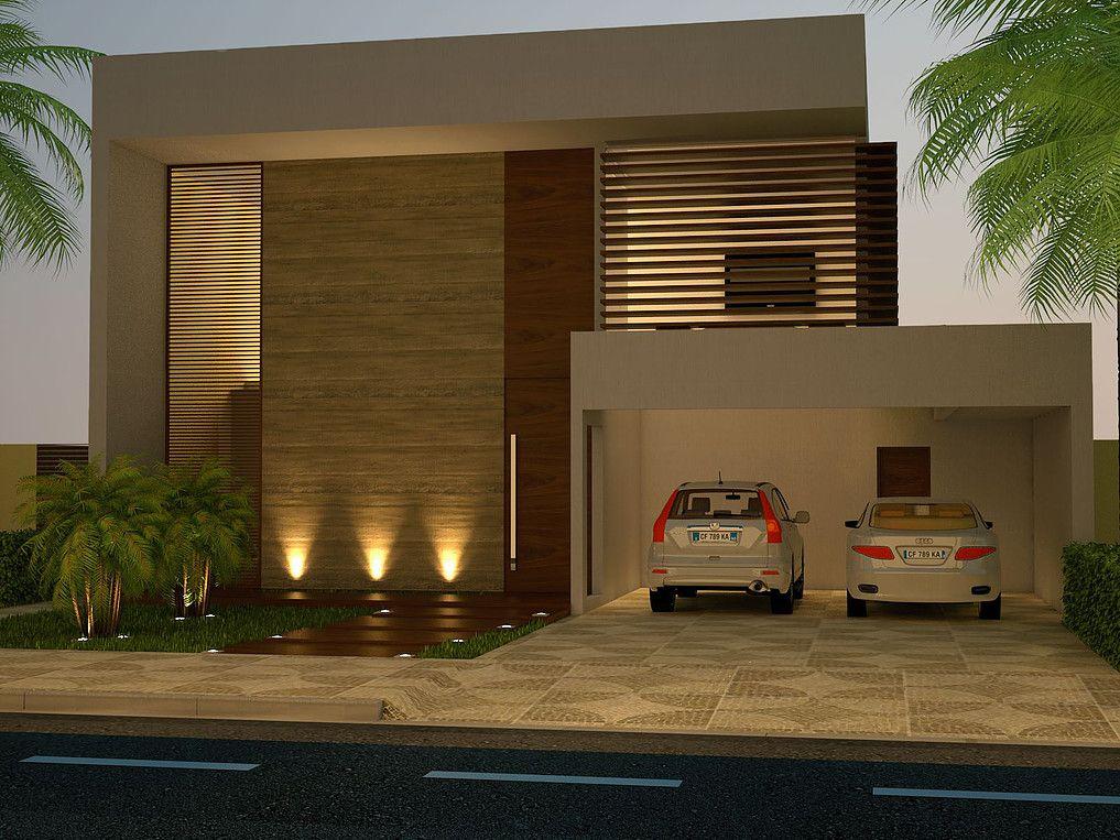 Suficiente Projeto de uma Casa Contemporânea - Condomínio Alphaville  KK75