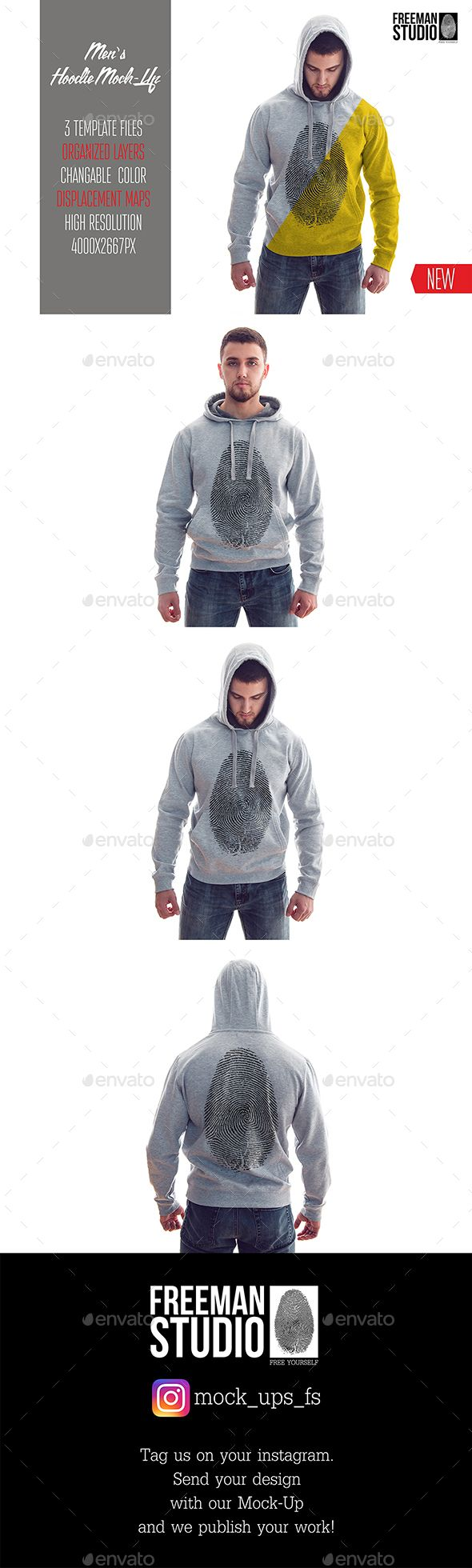 Download Men S Hoodie Mock Up Clothing Mockup Hoodie Mockup Hoodies Men