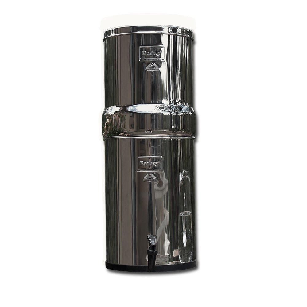 Royal Berkey Rb4x2 Bb Countertop Water Filter System With 2 Black