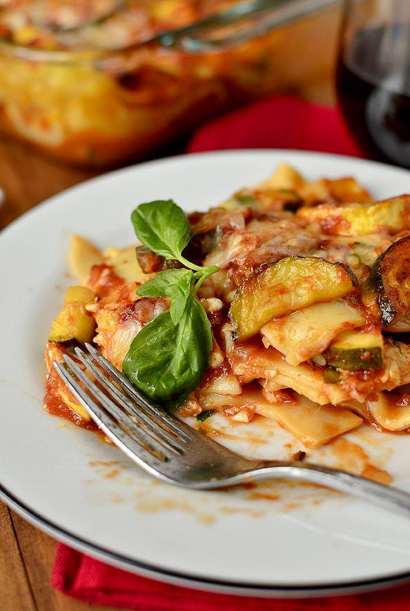 Farmers' Market Vegetable Lasagna