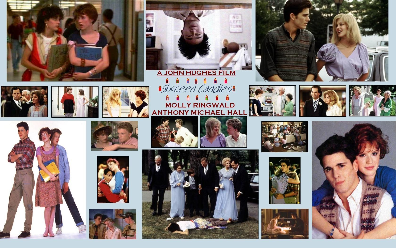 Sixteen Candles Collage Candles Wallpaper Sixteen Candles Anthony Michael Hall