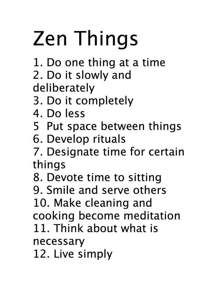 Zen Things Words Quotes Inspirational Quotes