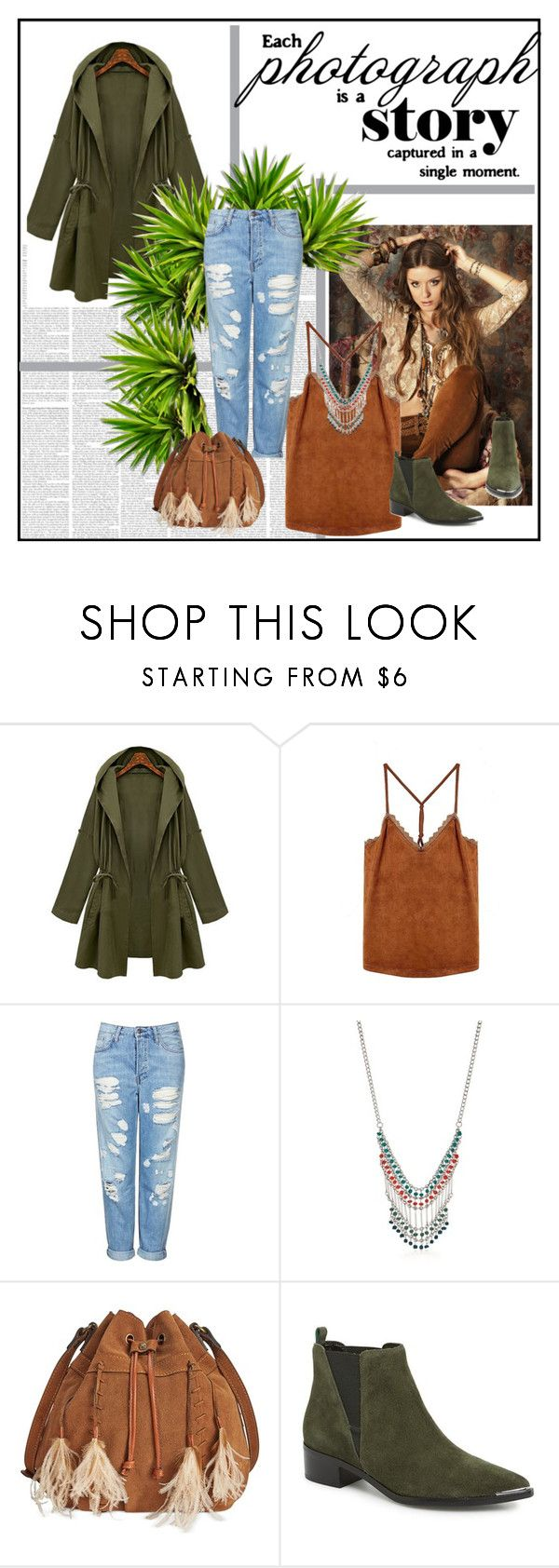"""""""Untitled #44"""" by bothasj ❤ liked on Polyvore featuring Topshop, Red Camel, Patricia Nash and Marc Fisher LTD"""