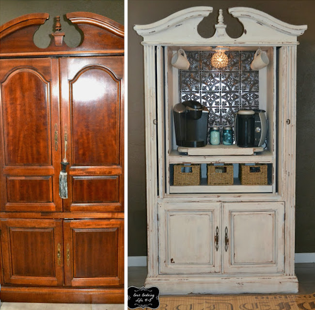 Super Hidden Door Bar Coffee Stations Ideas In 2020 Armoire Makeover Repurposed Furniture Furniture Makeover