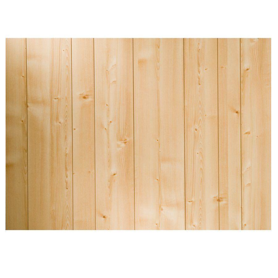 CanWelBroadLeaf 3/16-in x 4-ft x 8-ft Norwegian Pine MDF Wall Panel ...