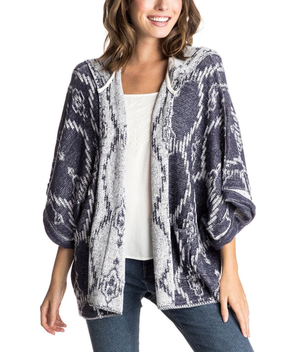 Roxy Eclipse Dawn Breakers Hooded Cardigan | Cardigans and Roxy