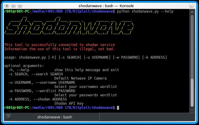 Shodanwave Explore Obtain Information From Netwave Ip Camera
