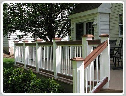 Deck Railing Ideas Our Lake Life Deck Railings Deck Colors Deck Railing Design