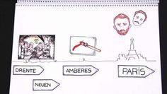 Vida de Van Gogh- corta y dibujada