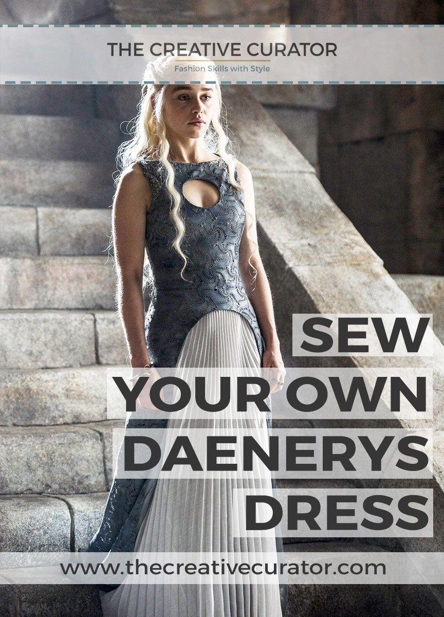 Daenerys Targaryen Dress Sew Your Own Tutorials Patterns Diy