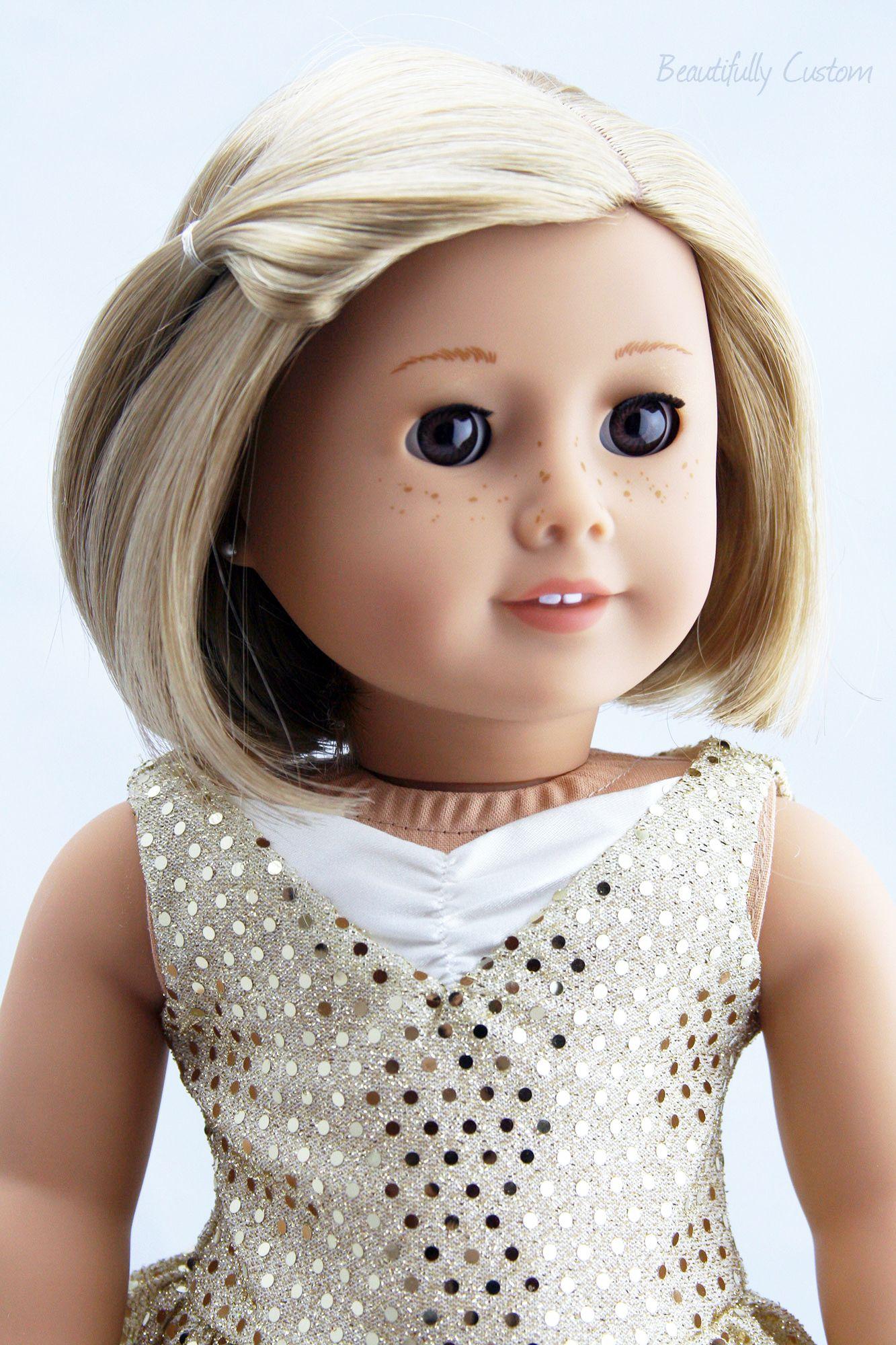 Custom Kit Custom Kit with Julie brown eyes freckles sho…