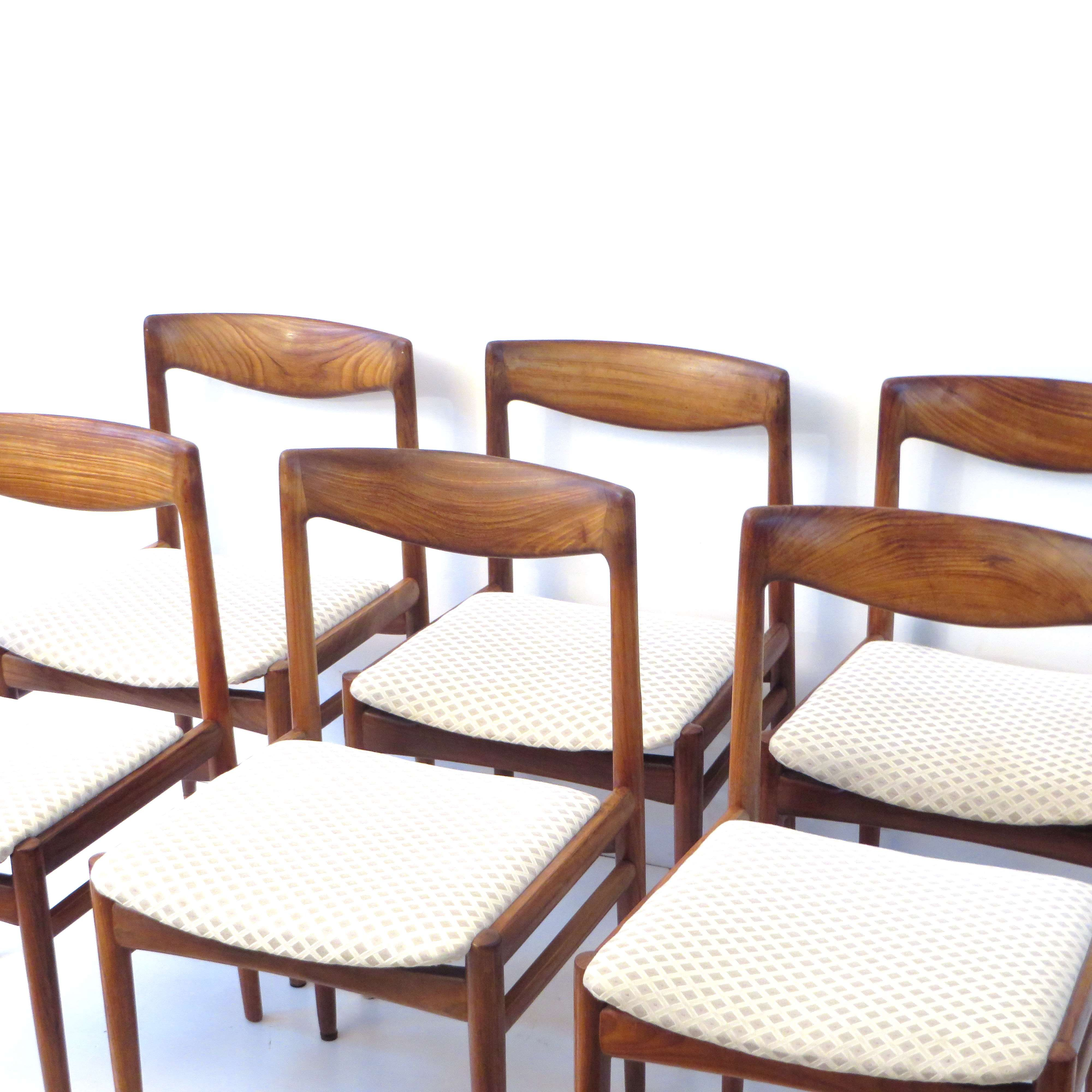 6 Vintage Eetkamerstoelen.Set Van 6 Niels Moller Stoelen Eetkamerstoelen Webshop