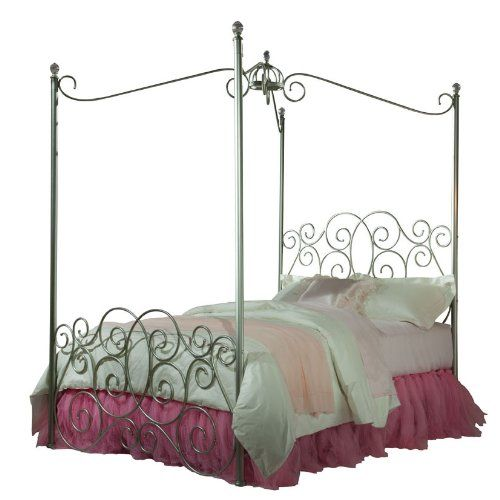 Standard Furniture Princess Canopy Bed In Silver Metal Full Standard Furniture Http Www Amazon Com D Princess