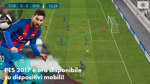 PES 2017 Mobile arriva su App Store   App store and App