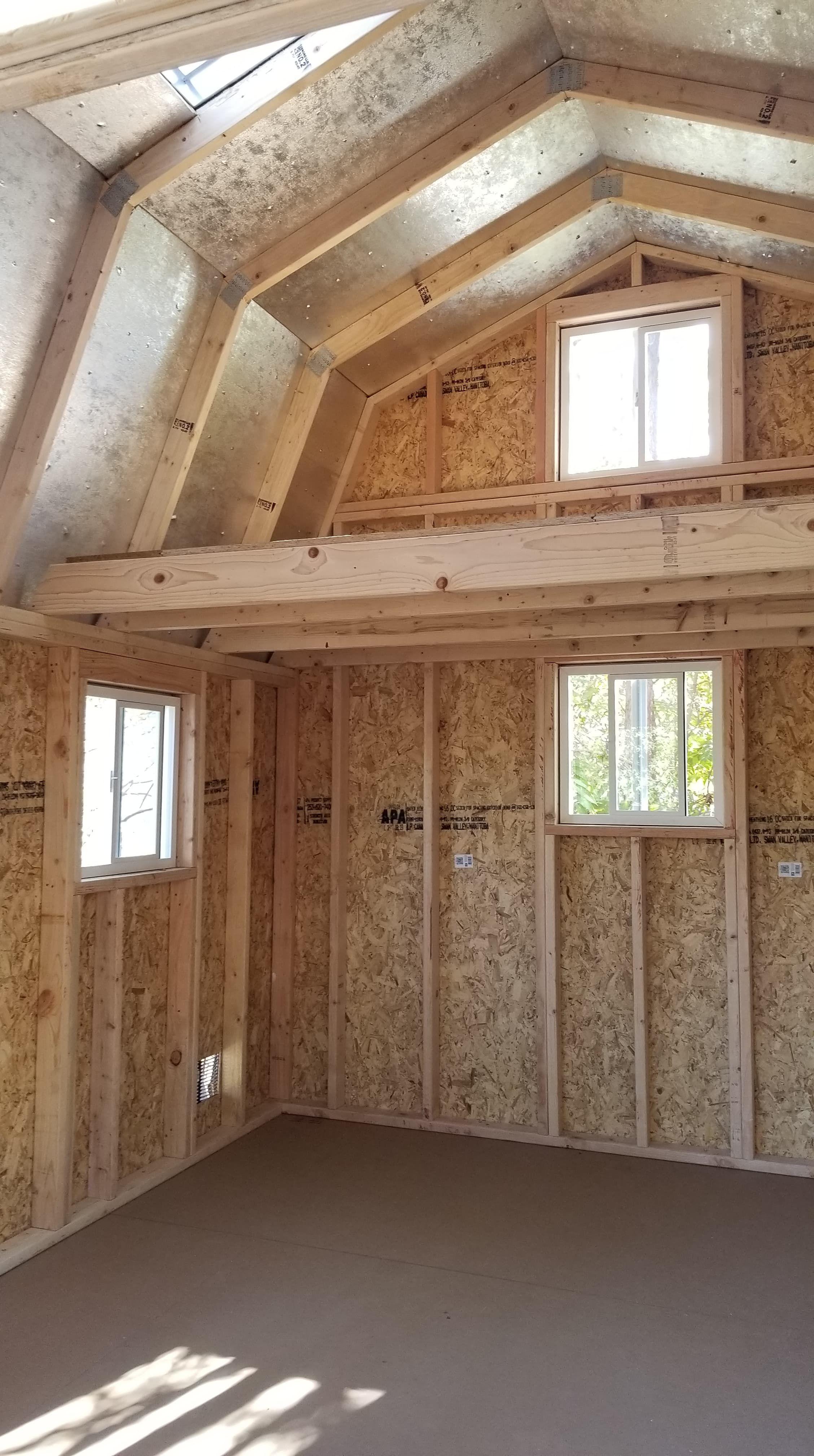 10x16 Barn Shed Plans Shed With Loft Barns Sheds Diy Shed Plans