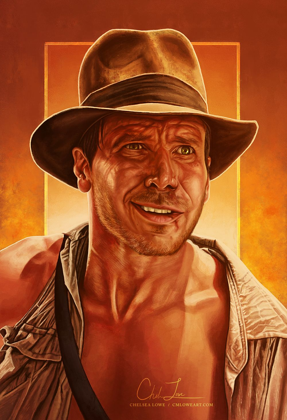 Fortune And Glory In 2020 Indiana Jones Indiana Time Painting