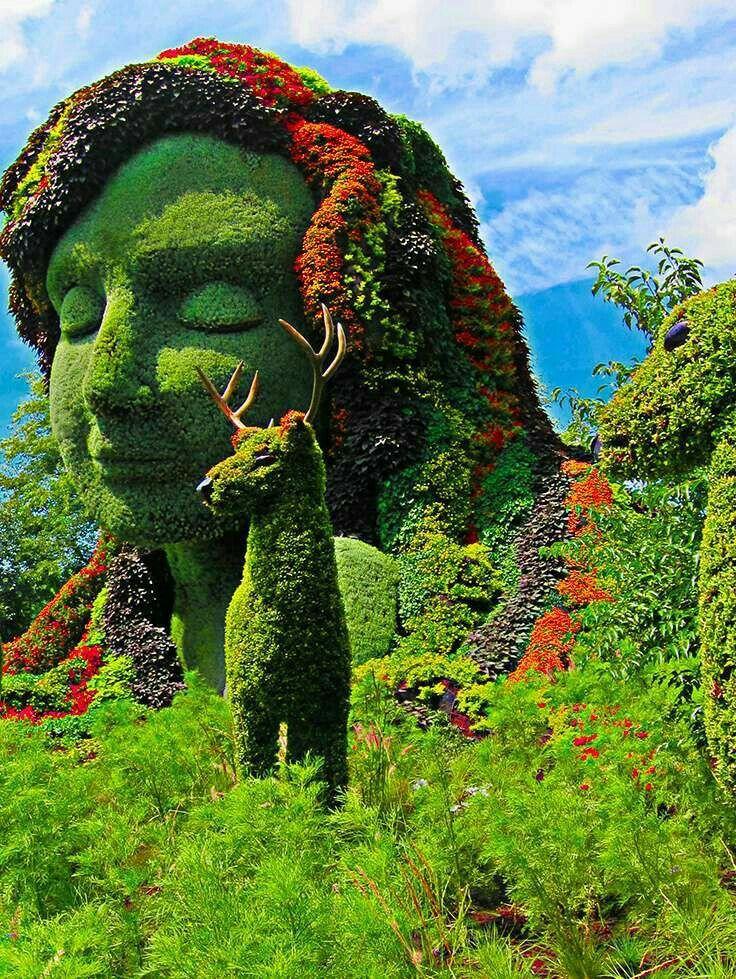 Pin de chiquys bastery en arte en jardines jardines - Estatuas de jardin ...