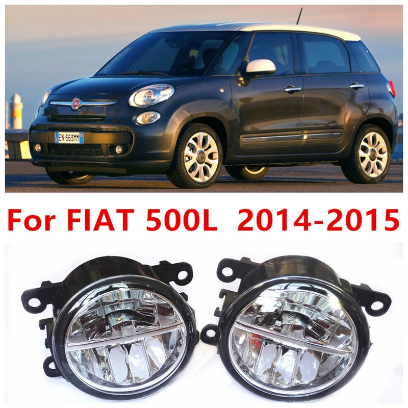 37.84$  Know more  - For FIAT 500L  2014-2015 Fog Lamps LED Car Styling 10W Yellow White 2016 new lights