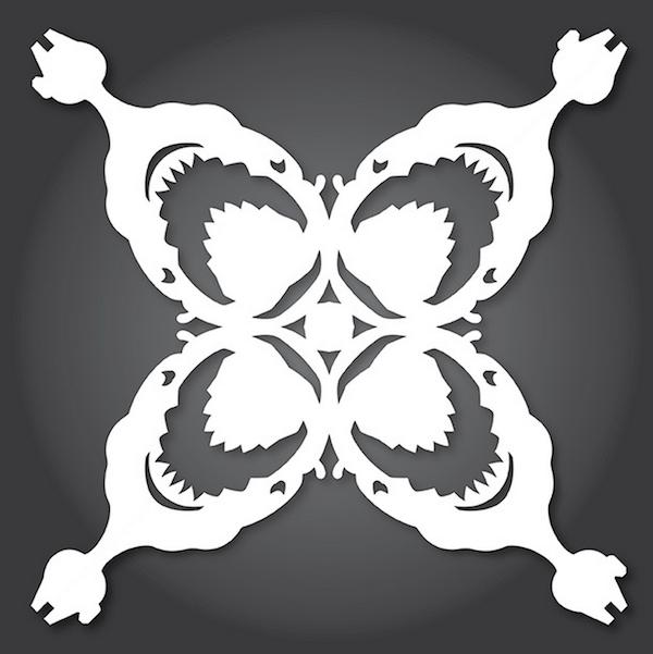 Star Wars Snowflake Patterns