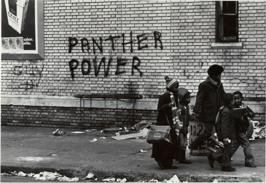 "Stephen Shames, ""Panther Power"", New York City, 1971"