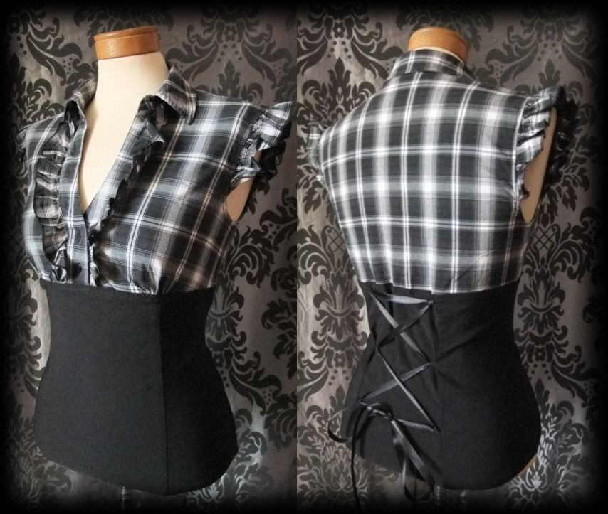 Black Flannel Shirt Women S