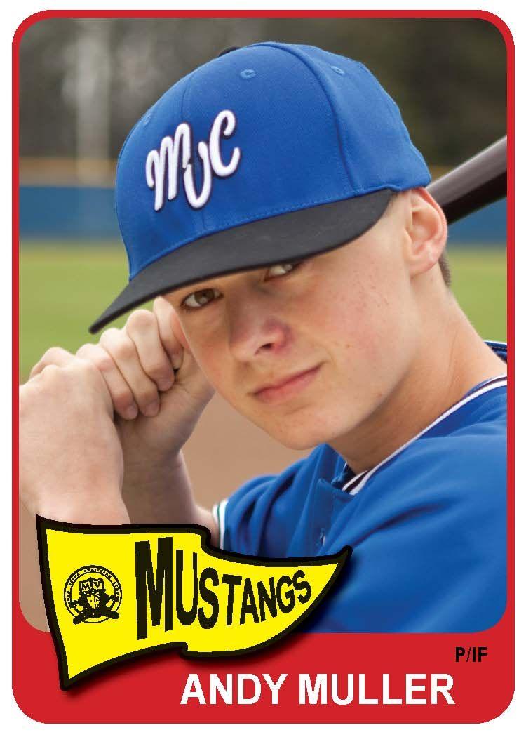 Monte Vista Christian School Baseball Card School Baseball League Champs Cheer Team