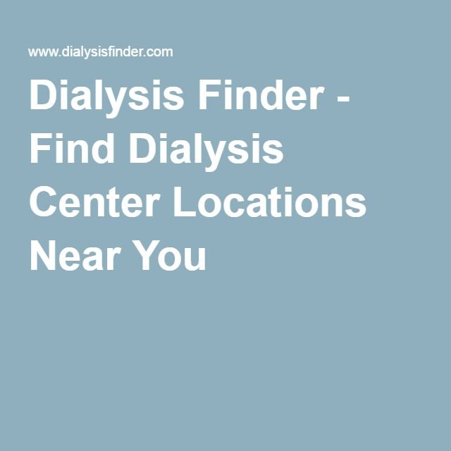 dialysis finder - find dialysis center locations near you | our, Cephalic Vein