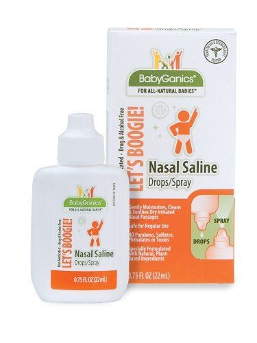 Babyganics Lets Boogie Nasal Saline Drops Spray When You Order