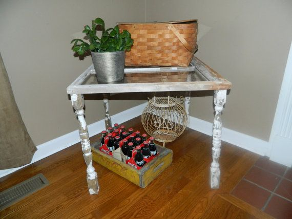 Beautiful Shabby Chic Side Table made from by RebeccasChicBoutique, $45.00