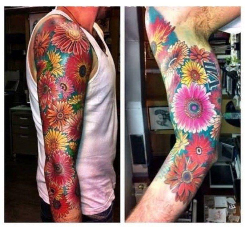 Ideas Flower Tattoo Sleeve Sleeve tattoos, Flower sleeve