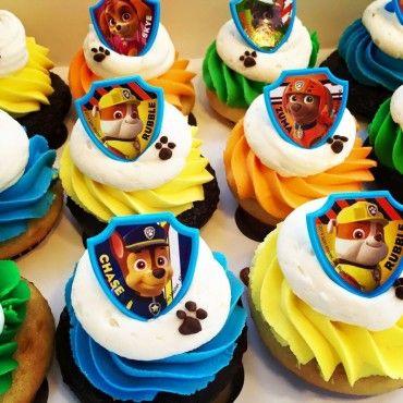 Paw Patrol Cupcakes Paw Patrol Birthday Cake Paw Patrol Cupcakes