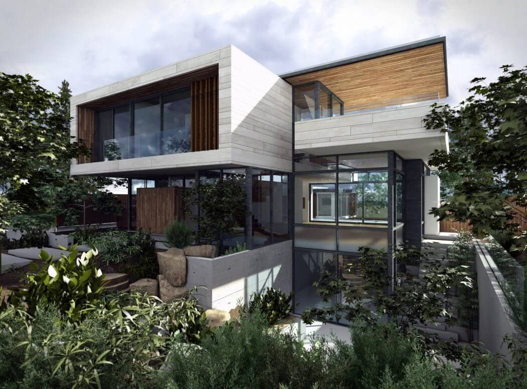 Chancellor Residence by Frits de Vries Architect | Häuserdesign ...
