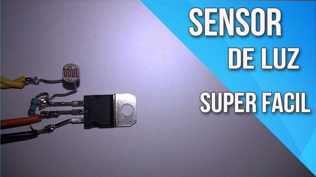 Sensor De Luz Com Apenas 3 Componentes Esquemas Eletronicos Componentes Eletricos Componentes Eletronicos