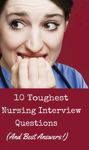 The 10 Toughest Nursing Interview Questions (And Best Answers - resume for nursing school