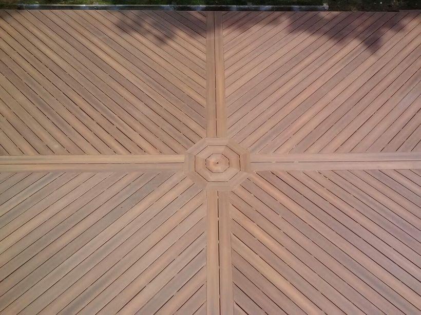 Diagonal deck boards decks fencing contractor talk