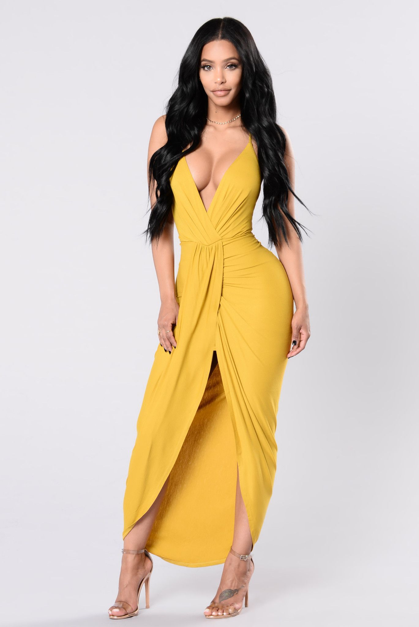 Yellow dress for women  Tell Me How To Love Dress  Tea Leaf  Products