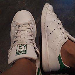 a61ca702c5c454 adidas Stan Smith Junior M20605 - Baskets Mode Enfant/Fille, Blanc, 35.5 EU