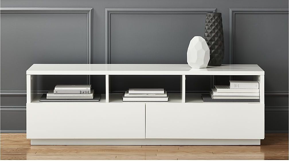 Chill White Media Console Reviews Modern Media Console Media