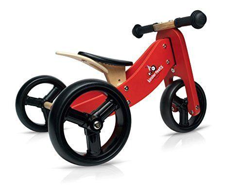 Kinderfeets Tiny Tot 2 1 Tricycle Balance Bike Wooden Balance Bike Balance Bike Tricycle