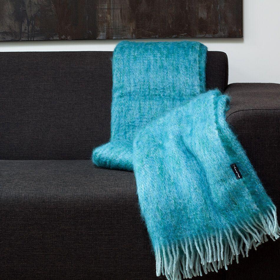 Mohairdecke Turkis Alpaka Decke Decke Wolle Kaufen