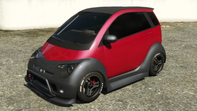 The Benefactor Panto Is A Smart Car Featured In Gta 5 As Part Of