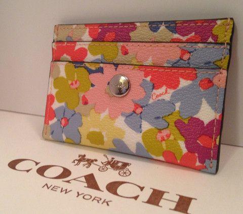 Coach Floral Peyton Card Case F60260 – JustTrendyOnline