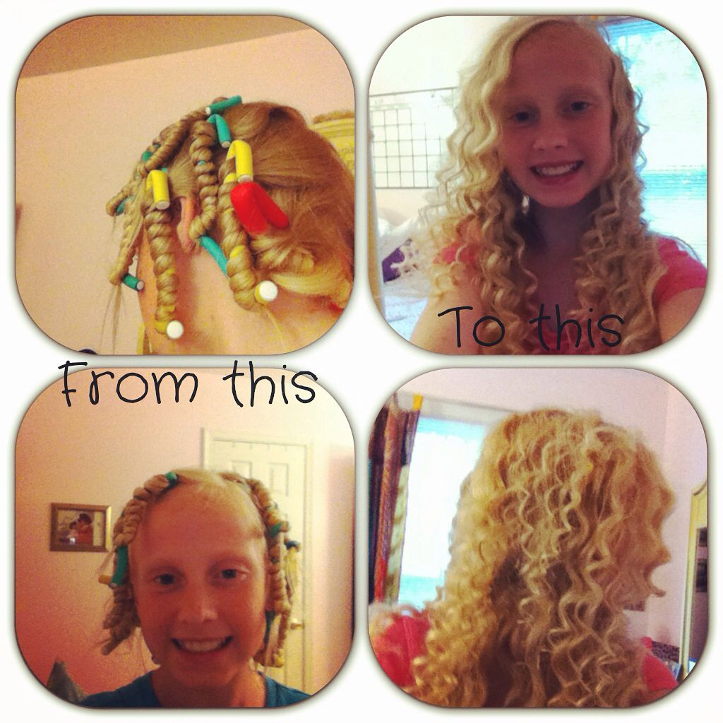 This Is My Favorite Way To Do Heatless Curls #FLEXI RODS