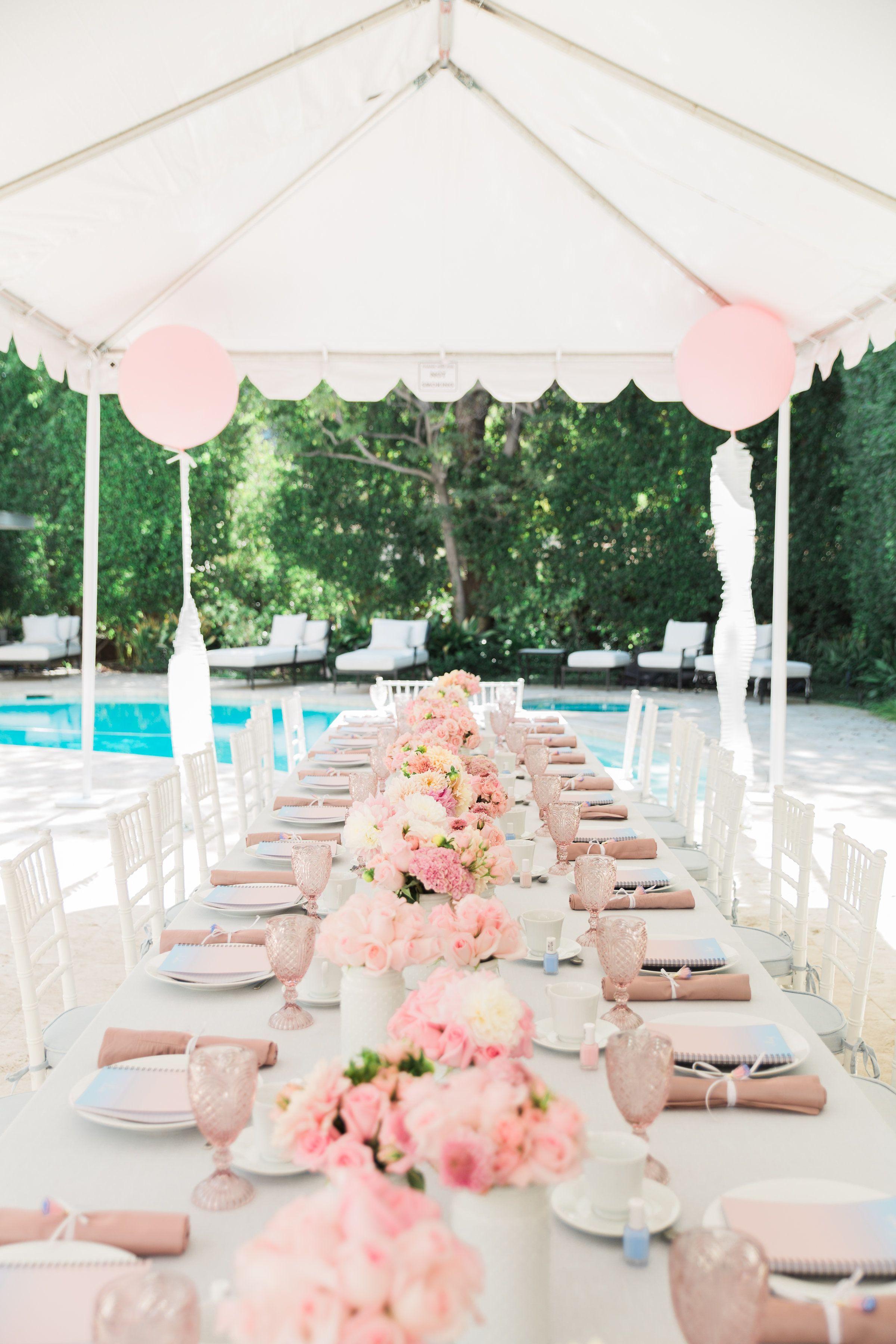 56f8f52fe8b2 A Blushing Pantone Themed Bridal Shower in 2019